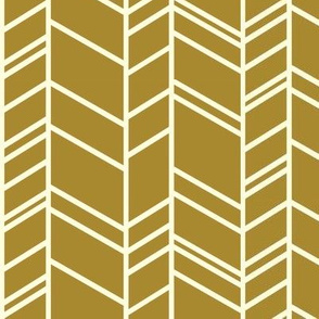 Chevron in ochre