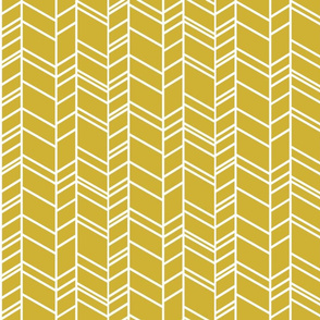 Chevron in goldenrod