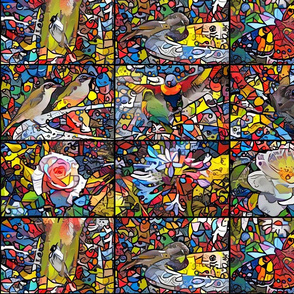 Stained Glass Window Tiles