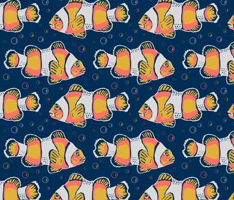 limited clowns 8x8 fabric by leroyj on Spoonflower - custom fabric