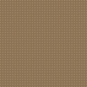 Concentric Squares Tan On Café Noir 1:12