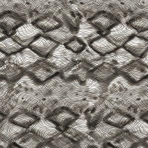 Abstract Snake Skin design