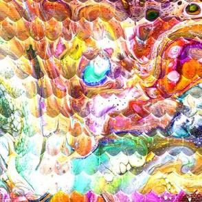 Magical Marble Dragonskin - Orange