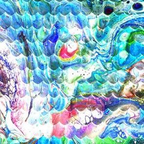 Magical Marble Dragonskin - Blue