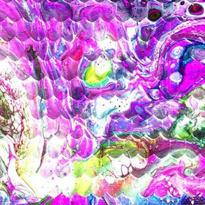 Magical Marble Dragonskin - Lilac