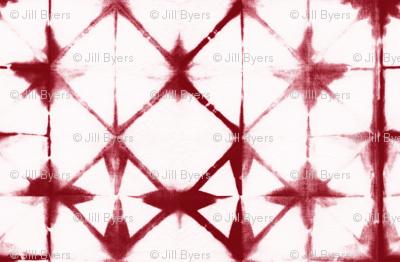 Shibori 13 - Red