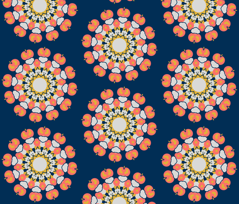 colour challenge 4 fabric by the_hoarder's_art_room on Spoonflower - custom fabric