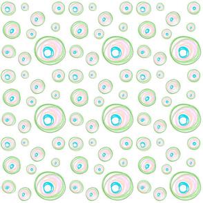Messy Crayon Circles