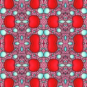 psychedelic red style 3