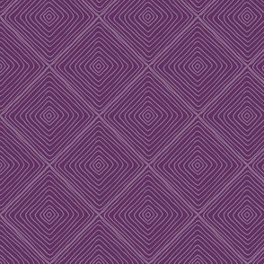 Squared Up (plum) Coordinate for Sloth patchwork fabric, Design EA