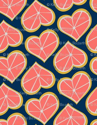 Grapefruit Lovin' -- Limited Palette Challenge