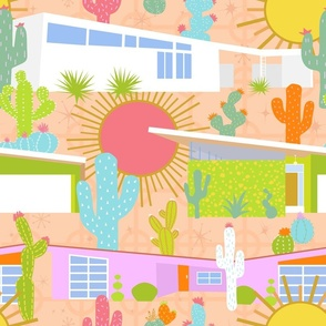 Midcentury Modern Desert Neighborhood