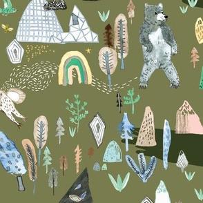 Bear Country (fern) MED