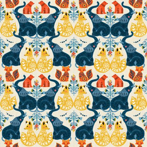 Animal prints fabric by michelle_luu on Spoonflower - custom fabric
