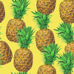 Sunny pineapples
