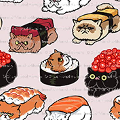 Sushi Persian Cat_3cm