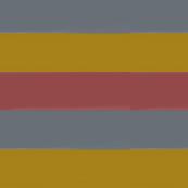 wide stripes - berry mustard dusty blue