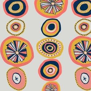 A Curtain of Handmade Beads
