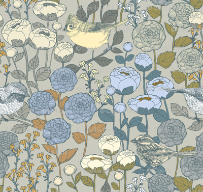Winter Garden {Frost Light} - medium scale