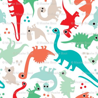 Cute baby boy dinosaur fantasy series SMALL