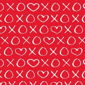xoxo love hearts hugs and kisses print for lovers wedding and sweet valentine romance hot red