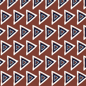 rust-navy-white triangle-33