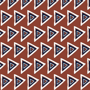 rust-navy-white triangle-31