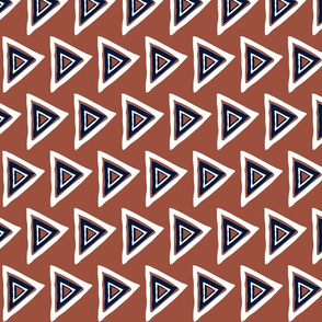 rust-navy-white triangle-32