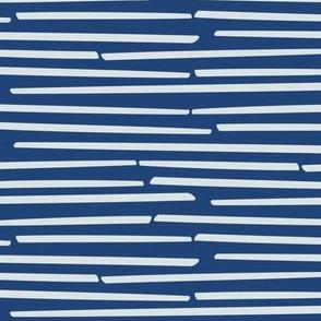 blue sticks