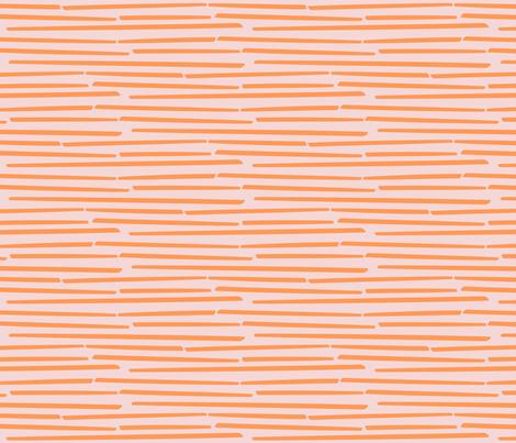 orange sticks fabric by mrshervi on Spoonflower - custom fabric