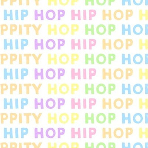 HIP HOP - easter - pastel multi - LAD19