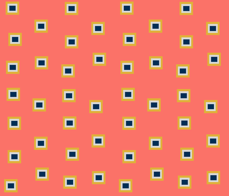 coral fabric by shadow-artist on Spoonflower - custom fabric