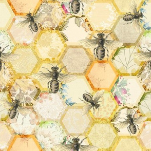 Just Buzzing Hive Patchwork