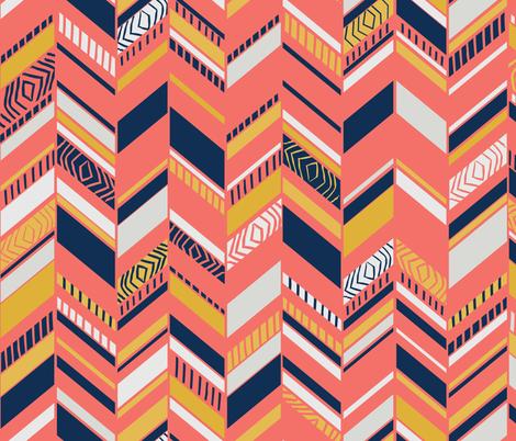 Herringbone Splice fabric by harrietharkerdesigns on Spoonflower - custom fabric