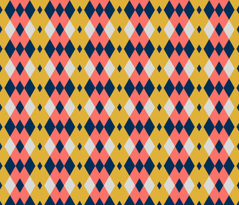 argyle - autumn 35 fabric by drapestudio on Spoonflower - custom fabric
