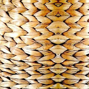 Basket Weave Stripe Golden