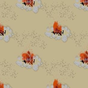 Crackling Campfire | Attic Enigma