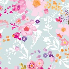 Portobello Floral (pastel)