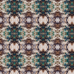 Country Modern Texture  Teal  Design