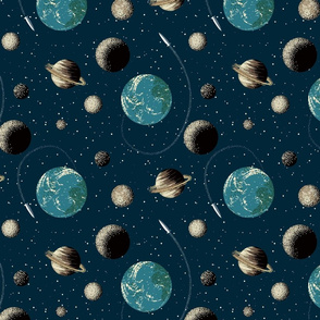 space (large scale)