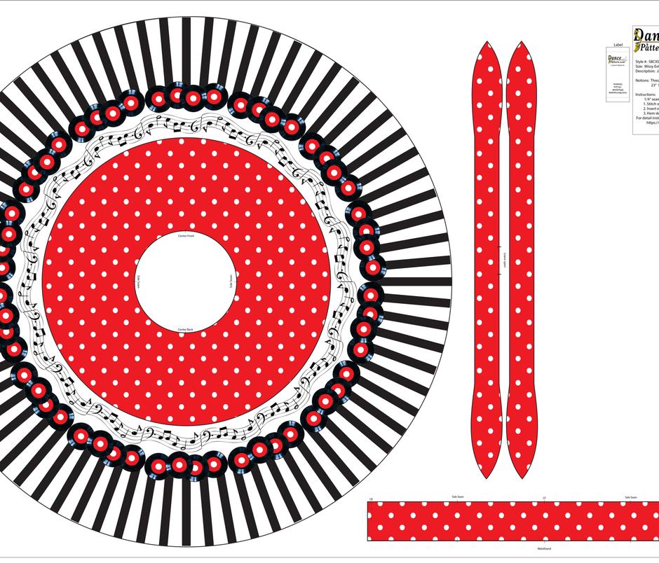 Rock 'n' Dance Missy Extra Small fabric by dancepattern on Spoonflower - custom fabric