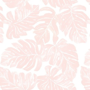 Jungle Monstera-Leaves_pink