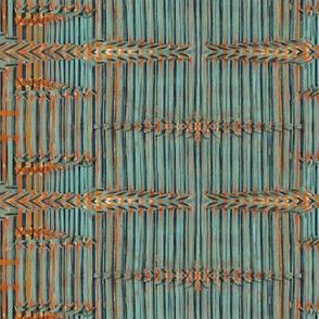 bamboo basket weave latch