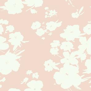 canyon floral - peach