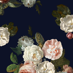Tessa Floral // Navy