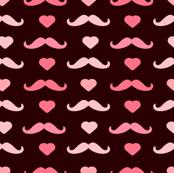 Mustache Maroon