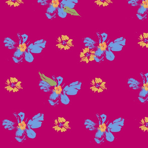 forget me nots pink