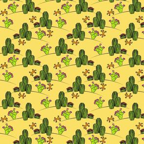lizards in the desert