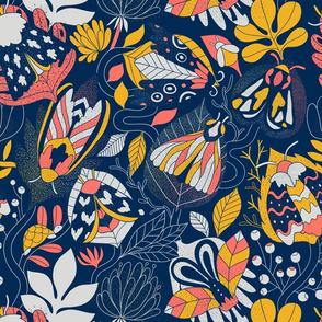 moths_pattern_limited_color_pallette