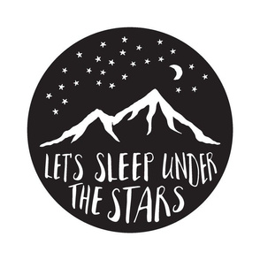 "(14"" larger) Let's Sleep Under the Stars C19BS"